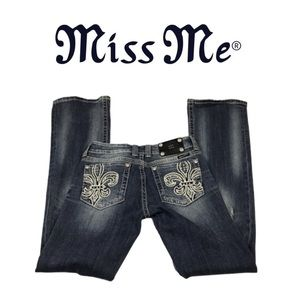 Miss Me Designer Boot Cut Jeans. Sz 27